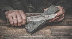 Learn how to sharpen a knife the right way by checking out our guide. Discover the correct way to sharpen a survival or pocket knife, even in the field.