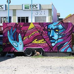 SATOR in Mount Maunganui, Nw. Zealand, 2017, street art mobile
