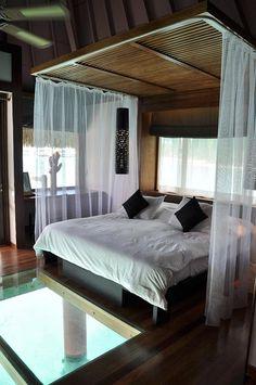 Amazing Hotels  Coastal Retreat Destinations  Serafini Amelia  Le Meridien Bora Bora Polinesia