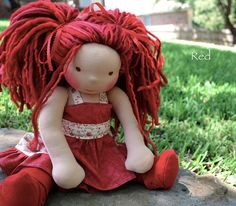 Red by Dragonfly's Hollow, via Flickr
