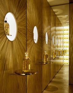 Mise en lumière - Découvrez la nouvelle boutique Guerlain à Paris - Elle Décoration