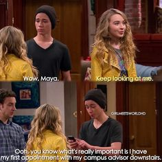 "#GirlMeetsWorld 1x20 ""Girl Meets First Date"" - Josh and Maya"