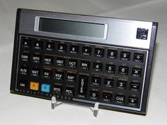 Vintage Hewlett-Packard Model HP-16C Progammable RPN Calculator, HP's First and Only Programmable Calculator, Circa 1988.