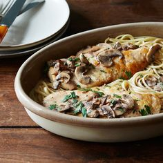 A Creamy Weeknight Chicken Marsala on Food52