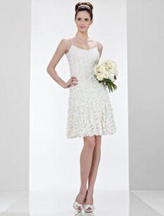 Theia 880659 Wedding Dress Discounted