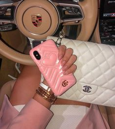 Gucci in a Porsche ------------------------------------ Luxury Lifestyle Fashion, Luxury Fashion, Porsche, Insta Outfits, Classy Aesthetic, Cute Cars, Luxury Bags, Phone Covers, Dream Life