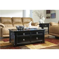 Greensburg Lift Top Coffee Table | Weekends Only Furniture and Mattress