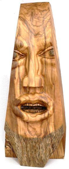 The Wedge Olive Wood Sculpture by ellenisworkshop on Etsy, $600.00