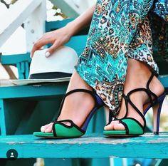 Il colore primaverile delle calzature di classe Vicenza
