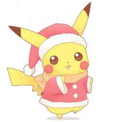 Pikachu navidad c: PNG by saeuchiha.deviantart.com on @deviantART