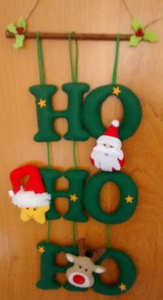 Christmas Topiary, Felt Christmas Decorations, Felt Christmas Ornaments, Noel Christmas, Christmas 2019, Christmas Projects, Felt Crafts, Christmas Crafts, Felt Banner