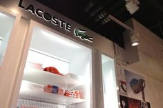 Lacoste and Tommy Hilfiger outlets, Glasgow International Airport   Pacific Building