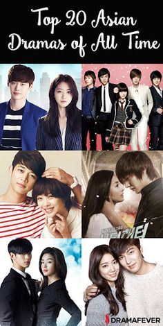What are the popular Asian dramas and variety shows that create new addicts and have old fans returning to watch them again and again because they are just that good? Well, I took a look at the top 20 most-viewed shows on DramaFever of all time, and the list was full of surprises! Take a look and see if your favorite dramas made the cut!