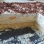 Nepečený dort s vanilkovým krémem – pecivorecept Vanilla Cream, Whipped Cream, Most Popular Desserts, Fanta, Florida, Cake Toppings, Yummy Cakes, Chocolate Cake, Tiramisu