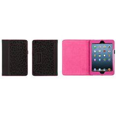 Griffin Moxy Folio for Apple iPad mini, Pink/Black