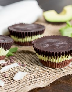 Raw Chocolate Mint Tarts - Gluten Free & Vegan