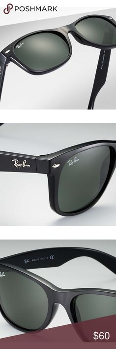 Ray Ban Wayfarer Brand New 52mm Black Ray-Ban Wayfarer Non-Polarized Lens New in box. Never before worn by anybody. 100% Authentic and sold from an authorized reseller of Luxottica products! Ray-Ban Accessories Sunglasses