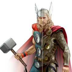 Thor infographic by Dan Mora,