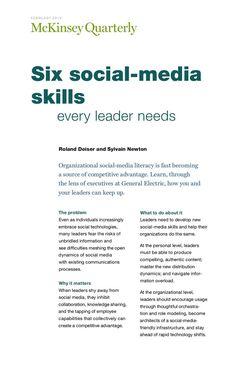 Public Relations | Six Social Media Skills Every Leader Needs http://itz-my.com