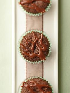 If you always search for the caramels in a box of candy, you'll love these chocolate cupcakes: http://www.bhg.com/recipes/desserts/cupcakes/decadent-chocolate-cupcakes/?socsrc=bhgpin030614chocolatecaramelbites&page=11