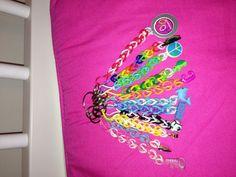 rainbow loom keychains ideas #MichaelsRainbowLoom