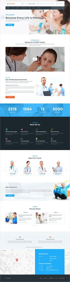 MedicPlus is beautifully design #WordPress template for #ENT #health and medical service website with 16+ stunning homepage layouts download now➯ https://themeforest.net/item/medicplus-health-medical-wordpress-theme/16440223?ref=Datasata