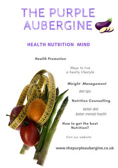 All about The Purple Aubergine :). If you want to lose weight and having a good level of psychological well being contact us. Vegetarian Protein Sources, Psychological Well Being, Health Promotion, Want To Lose Weight, Weight Management, Health And Nutrition, Diet Tips, Wellness, Vegetables