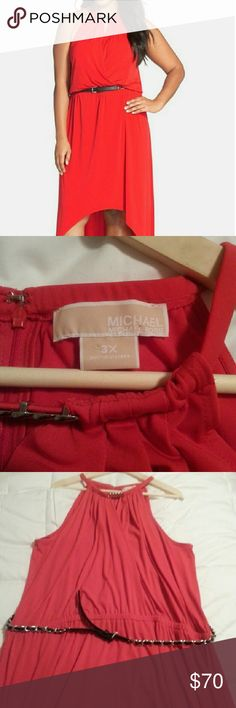 Michael kors dress Lovely michael kors dress. Never worn excellent condition:) NWOT Michael Kors Dresses High Low