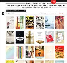 http://bookcoverarchive.com/ - Perfect website for book cover designers