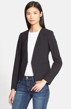 Theory 'Delaven' Stretch Wool Blazer available at #Nordstrom