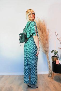 Jurk Amali Japanese Sustainable Clothes, Pantone, Jumpsuit, Japanese, Prints, Dresses, Fashion, Overalls, Vestidos