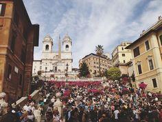 spanish steps // rome, italy
