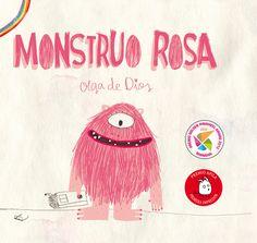 RZ100 Cuentos de boca: LIBROS PARA EDUCAR EN VALORES: Monstruo Rosa de Olga de Dios.