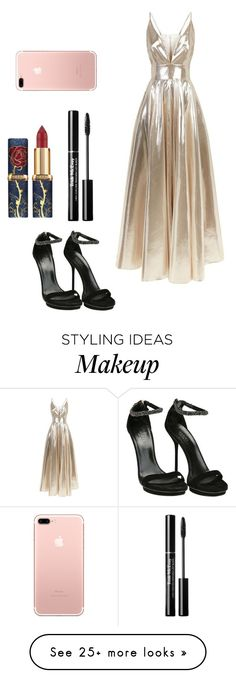 """O"" by thelittlesoup on Polyvore featuring La Mania and Gucci"