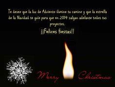 Feliz Navidad y un 2014 lleno de proyectos cumplidos