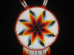 morningstar necklace native american by deancouchie on Etsy