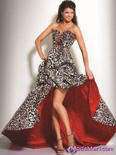 Zebra Desenli Elbise Modelleri