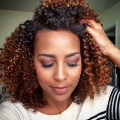 #Curly #Hair: Liberte os #caracóis neste #verão! #CurlyHair #trendy #waves #healthy #UseBranco