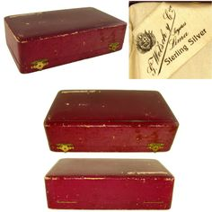 """Presentation box measures 9"""" x 5 3/8"""" x 2 1/2"""" tall Inkwell measures 2 1/8"""" x 2 3/8"""" at the base, 2 1/8"""" tall. Blotter is 3 1/2"""" length x 1 3/4"""" wide x 1 7/8"""" tall. Wax Seal is 2"""" length. Letter opener measures 7 3/4"""" length. Dip pen is 6 5/8"""" length."""
