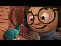 Pause to make inferences and predictions at: 1:22 (Why do the boys make fun of the mouse?), 1:59 (What might he do next?), 2:20 (What might he do next?), 3:30 (Why are the boy and the mouse happy? What will happen next?)