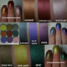 Last week Makeup Geek came out with 9 new foiled eyeshadows and 9…