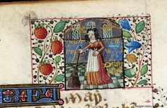 Book of hours, MS M.32 fol. 8r - Images from Medieval and Renaissance Manuscripts - The Morgan Library & Museum
