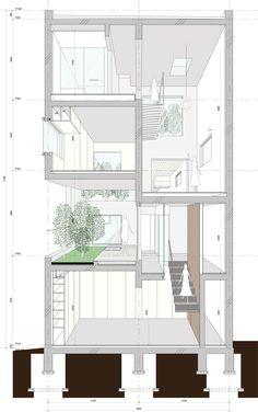 House-K in Tokyo, Japan. Architects: K2YT
