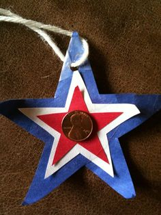 Preschool Crafts for Kids*: President's Day Lincoln Penny Pendant Craft