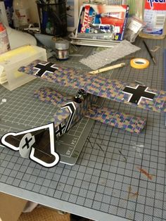 Wingnut Wings 1/32 Fokker DVII underway using our decals- courtesy Jim Hatch