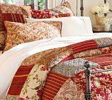 Master bedroom - I just love quilts and probably because it reminds me of my grandmother's home...  I love the vibrant colors and with our Mission Furniture, I think this might work.