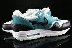 Nike WMNS Air Max 1 Essential Dusty Grey Black Mineral Teal
