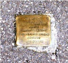 Stolperstein vor der Wolfstrasse 8 in Göppingen.