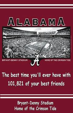 Alabama,  the Best time ever