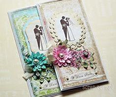 kartka ślubna ręcznie robiona - Szukaj w Google